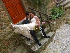 Castello di Gargonza Wedding Photographer