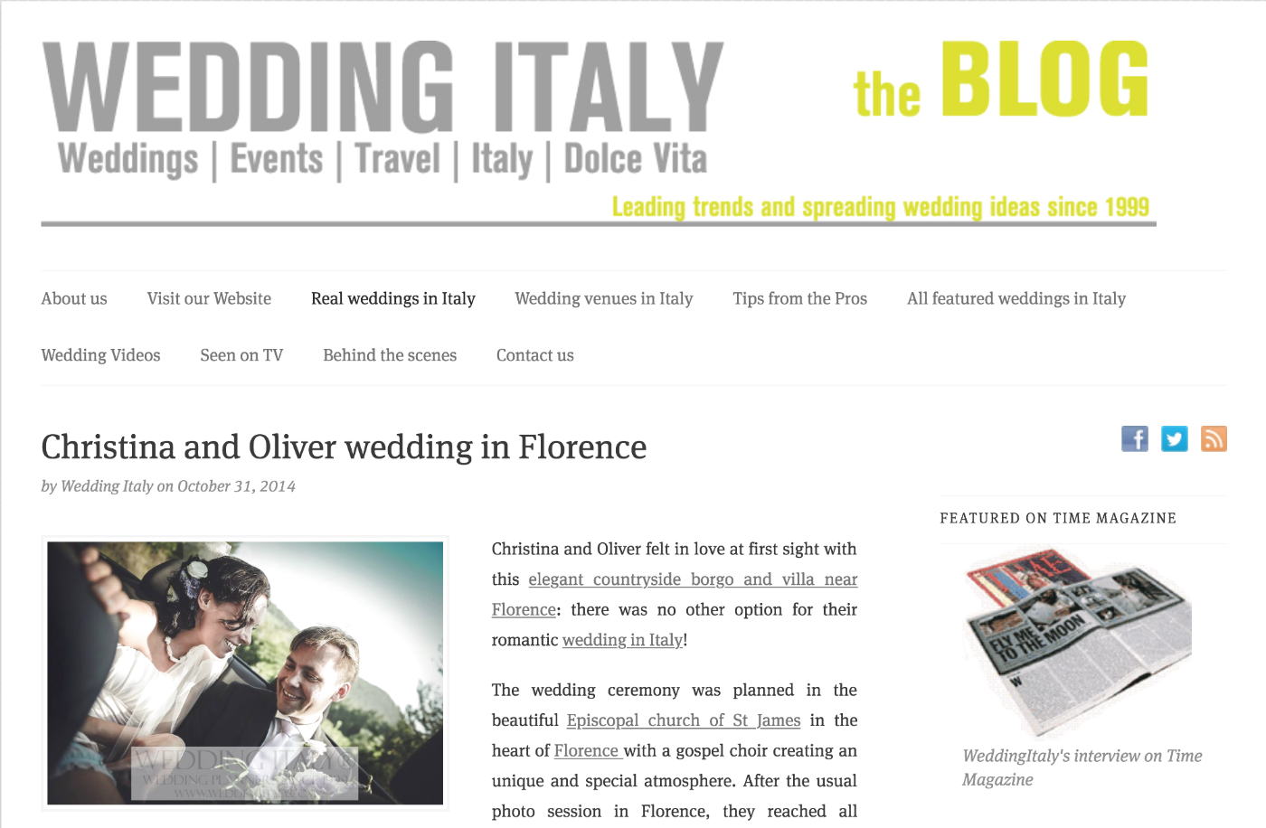 Wedding Italy | The Blog