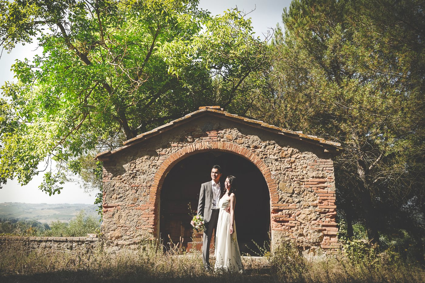 Photographer Pre Wedding in Tuscany | Domenico Costabile